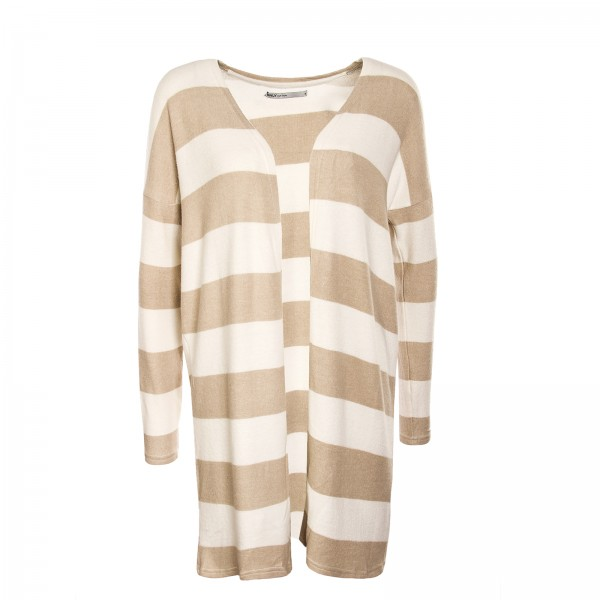 Only Cardigan Idaho Stripe Brown Beige