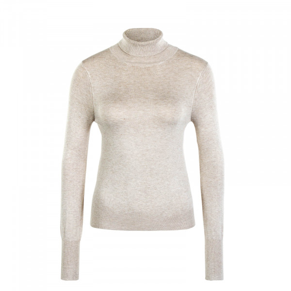 Damen Longsleeve Rollneck Whitecap Grey