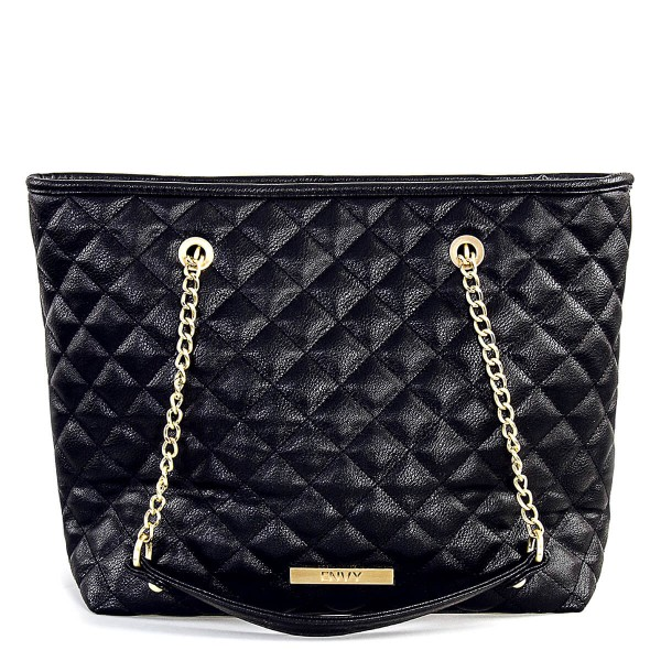 House Of Envy Bag Preppy Shopper Black