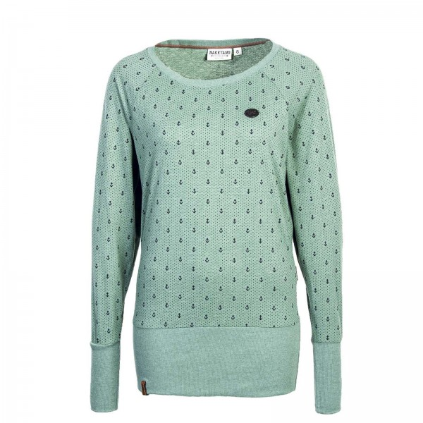 Naketano Wmn Sweat Hodenschmerzen Green