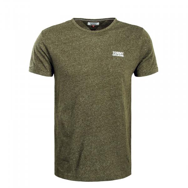 Herren T-Shirt TJM Modern Jaspe Olive