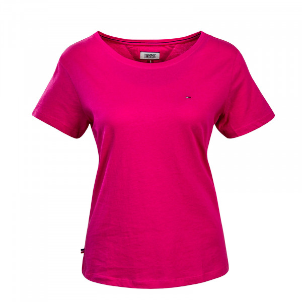 Tommy Wmn TS TJW Soft Jersey Pink