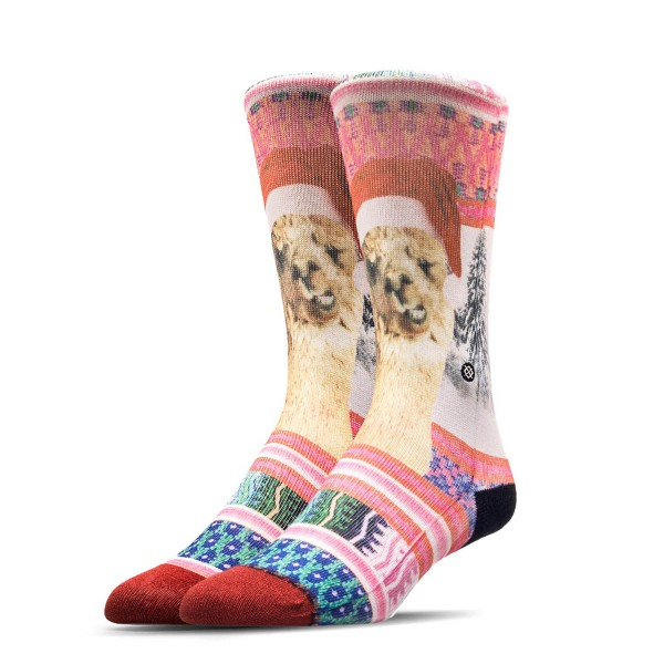 Stance Wmn Socks Tinsel Tina Tomboy Red