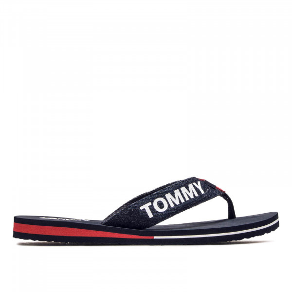 Tommy Wmn Slide Beach Denim Navy