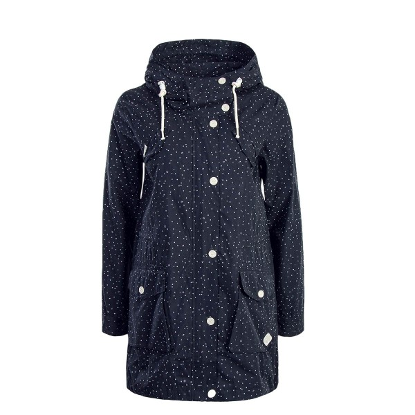 Damen Jacke Clancy Dots Navy