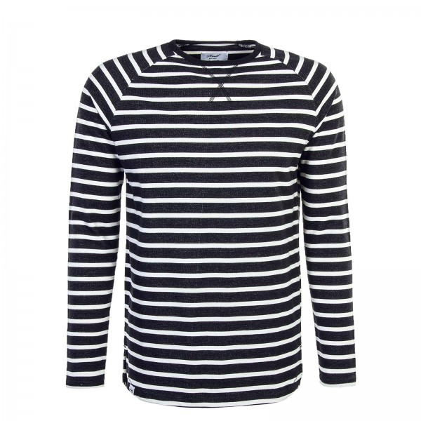 Reell LS Striped Black White