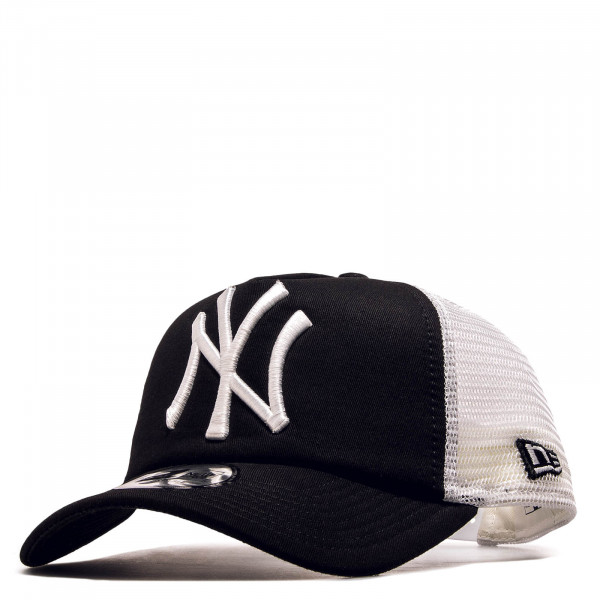 Cap Clean Trucker NY Black White