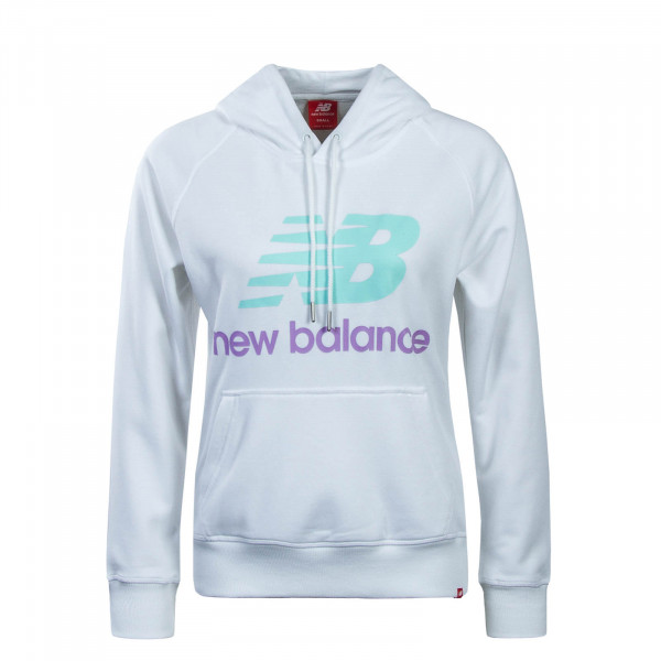 New Balance Wmn Hoody WT91523 White