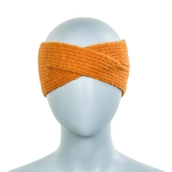 Damen Stirnband Hellen Alpaca Marmalade Orange
