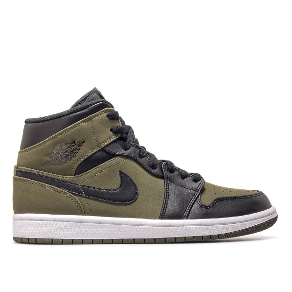 Jordan Air 1 Mid Olive Black