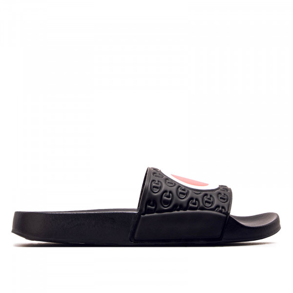 Damen Slide Multi Lido Black