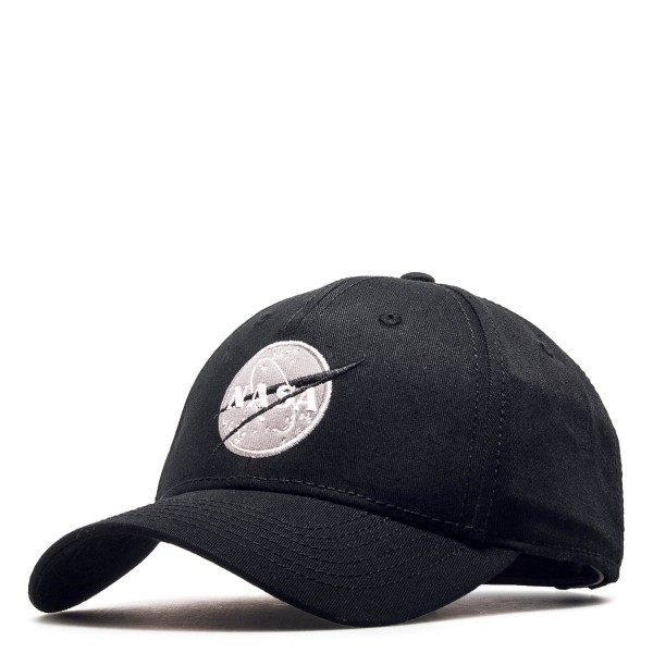 Alpha Cap Nasa Black