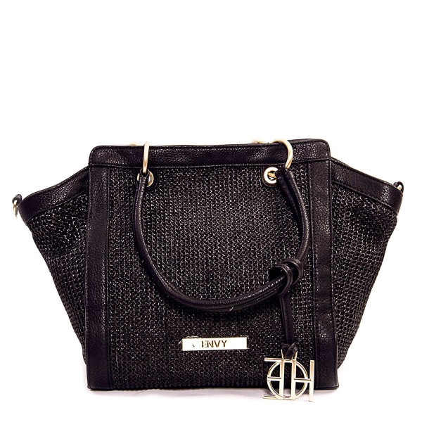 House Of Envy Bag Sun Straw Black Black