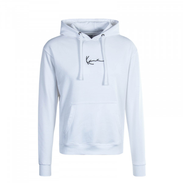 Herren Hoody Signature White Black