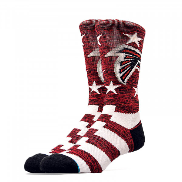 Stance Socks NFL Falcons Banner Red