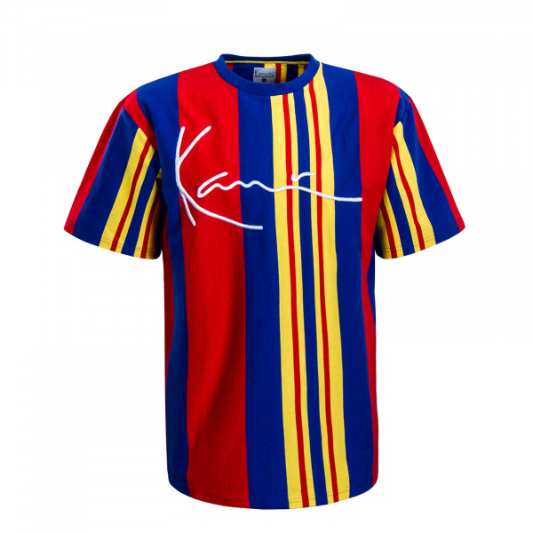 Herren T-Shirt Signature Red Blue Yellow