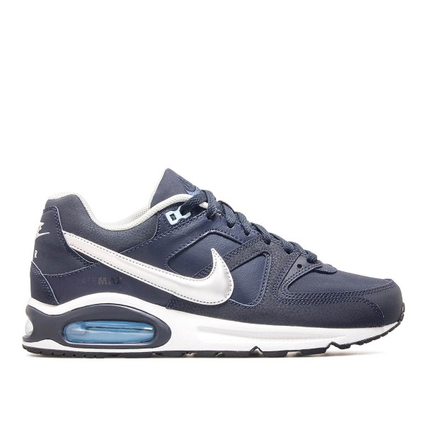 Nike Air Max Command Leather Blue Silver