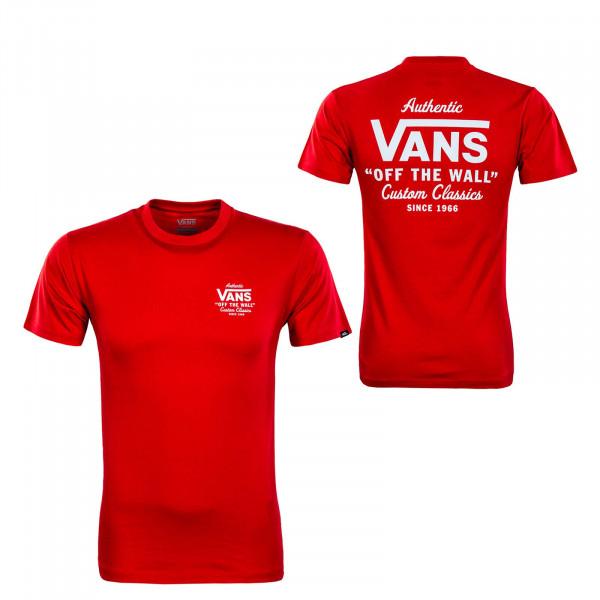 Herren T-Shirt - Holder ST Classic High Risk - Red / White