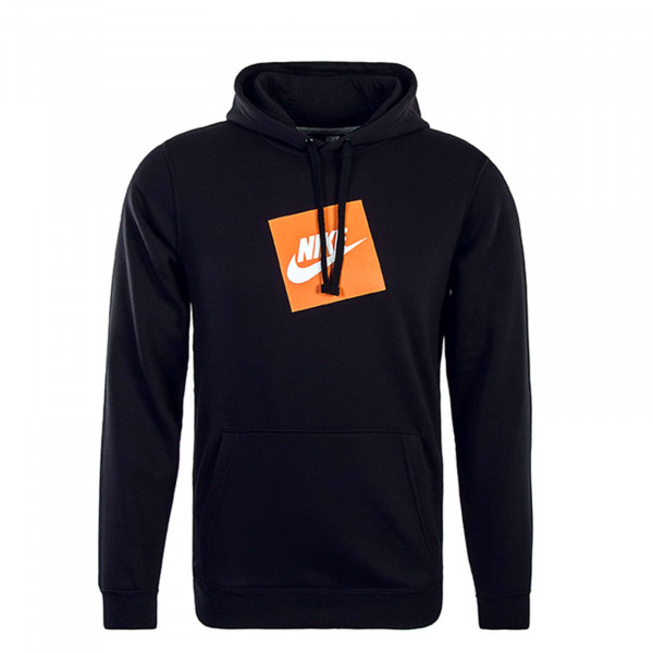 Nike Hoody HBR FLC Black Orange