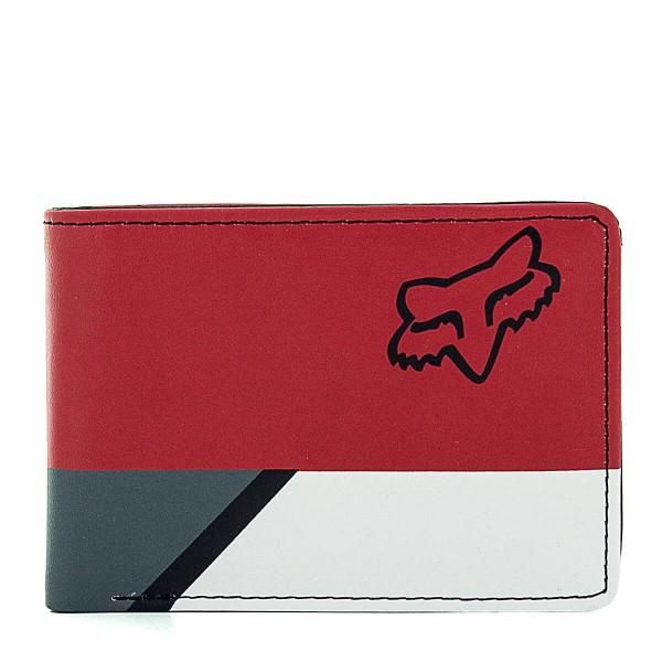 Fox Wallet Seca Badlands Red Black