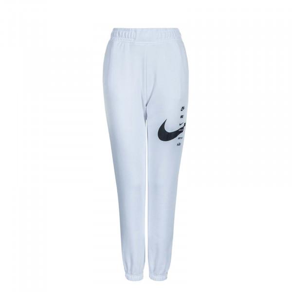 Damen Jogginghose NSW Swoosh FLC White Black