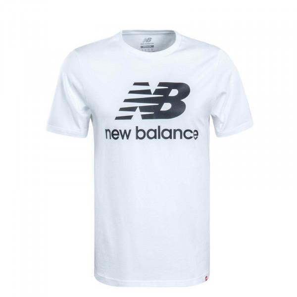 Herren T-Shirt MT91546 White Black