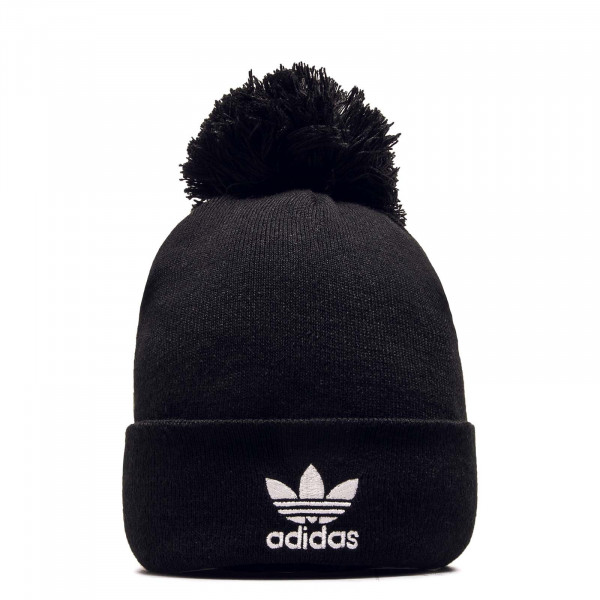 Beanie AC Bobble Knit Black