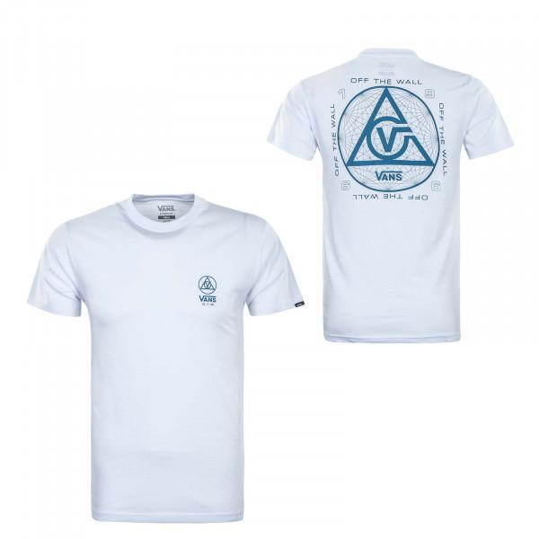 Herren T-Shirt - Three Points - White
