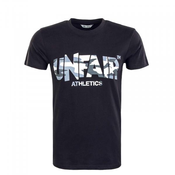 Herren T-Shirt - Classic Label - Black / Snow / Camouflage