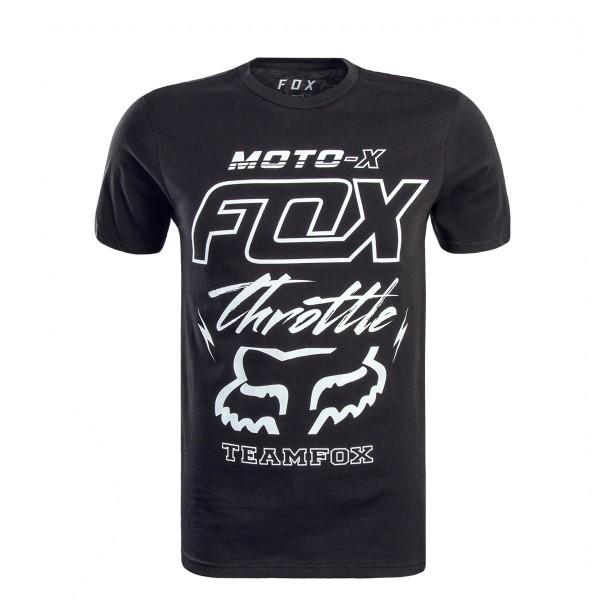 Fox TS Throttled Black White