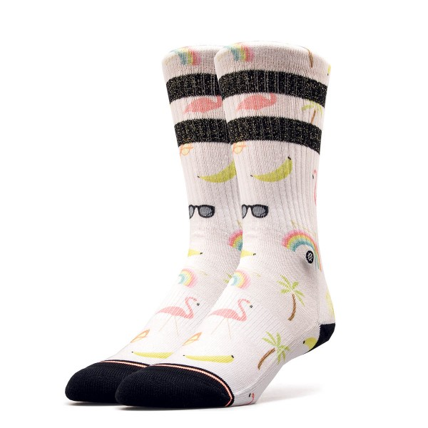Stance Wmn Socks Found Laine Classic Wht