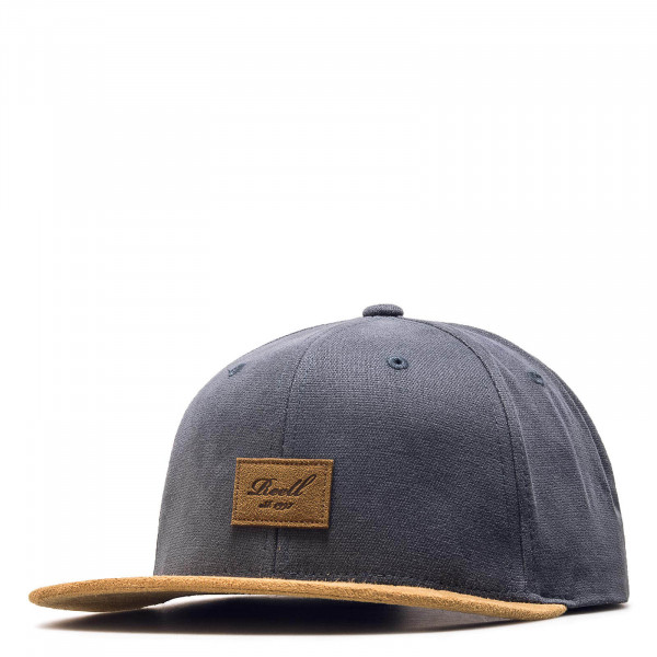 Reell Cap Suede Charcoal Brown