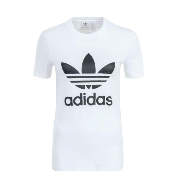 Adidas Wmn TS Trefoil White Black