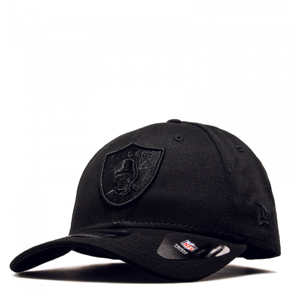 Cap 9 Forty Raiders Black Black