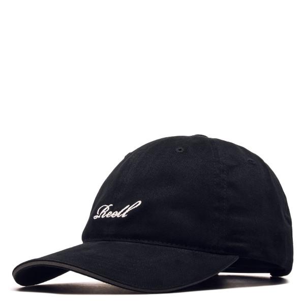 Basecap - Single Script - Black
