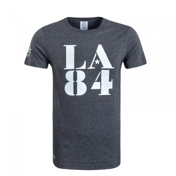 Herren T-Shirt 4164 Grey Melange