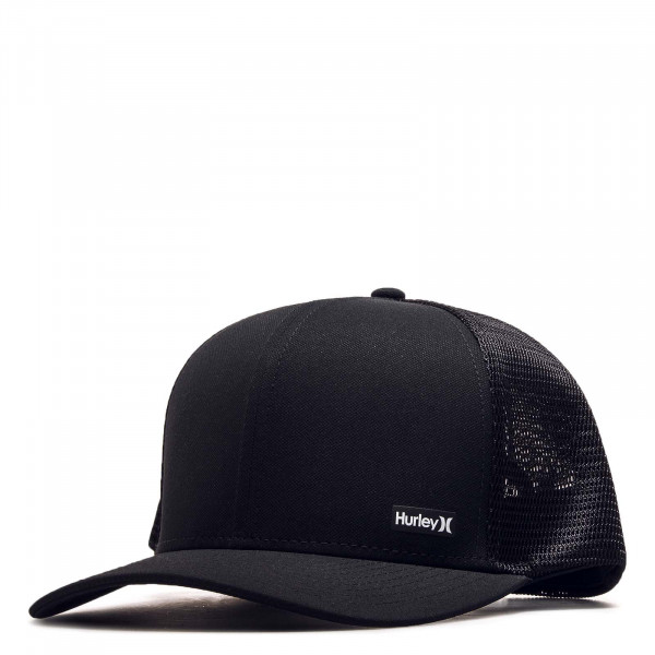 Trucker-Cap League Hat Black