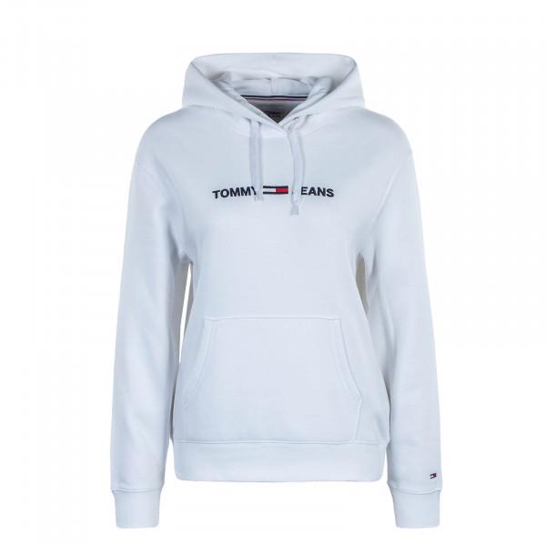 Damen Hoody TJW Linear Logo White