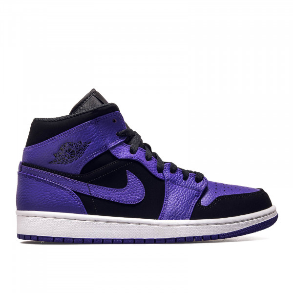 Nike Air Jordan 1 Mid Black Purple