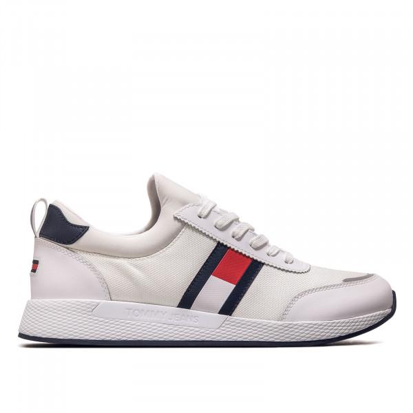 Herren Sneaker - Flexi Lycra Jeans Runner - White