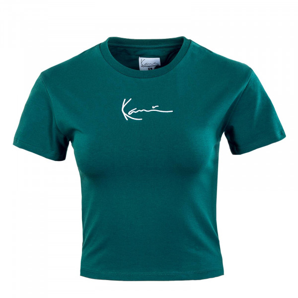 Damen T-Shirt - Small Signature Short - Green
