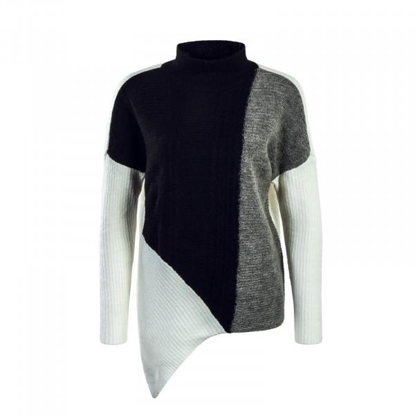Damen Knit Janice Black Grey White