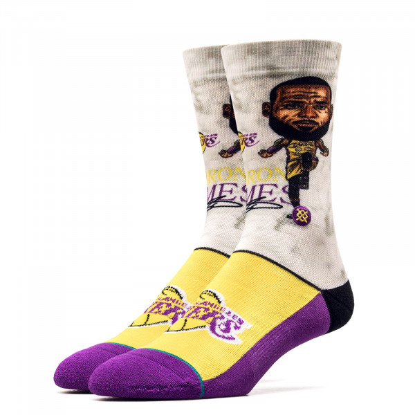 Stance Socks NBA Legends Lebron Grey