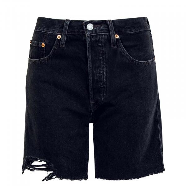 Damen Short - 501 Mid Thigh Lunar - Black
