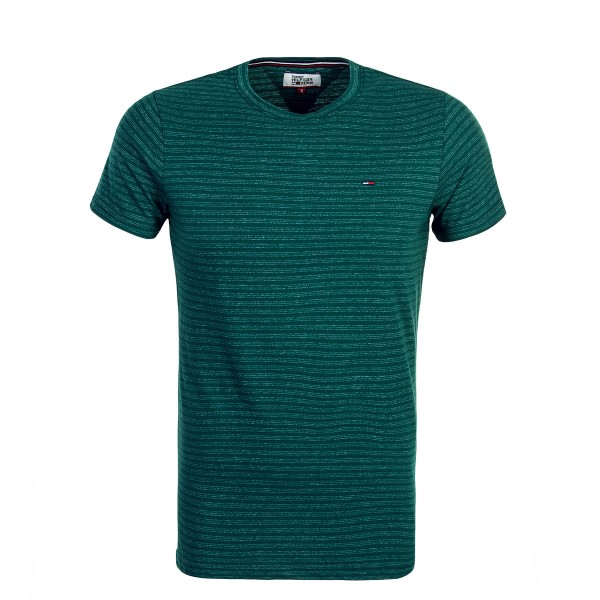 Tommy TS Crew Stripe Green