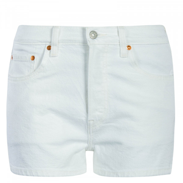 Damen Short 501 High Rise White