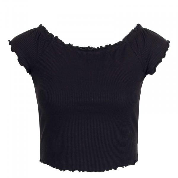 Damen Off Shoulder Top Naroma JRS Black