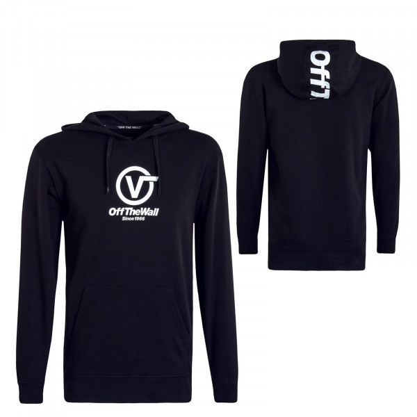 Herren Hoody Distorted Performance Black