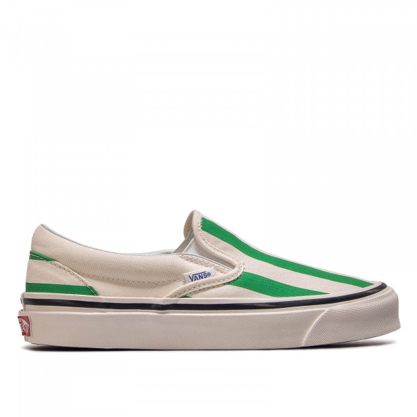 Damen Sneaker Classic Slip On 9 White Green