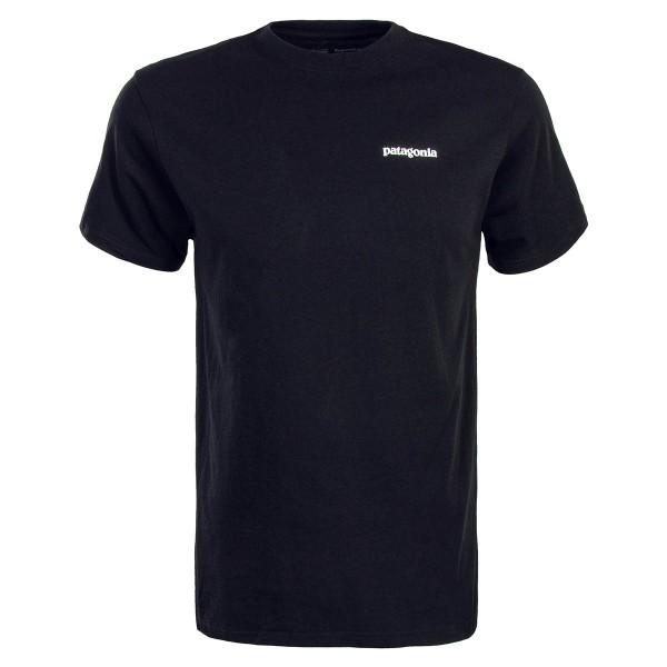Patagonia TS P6 Logo Responsibili Black